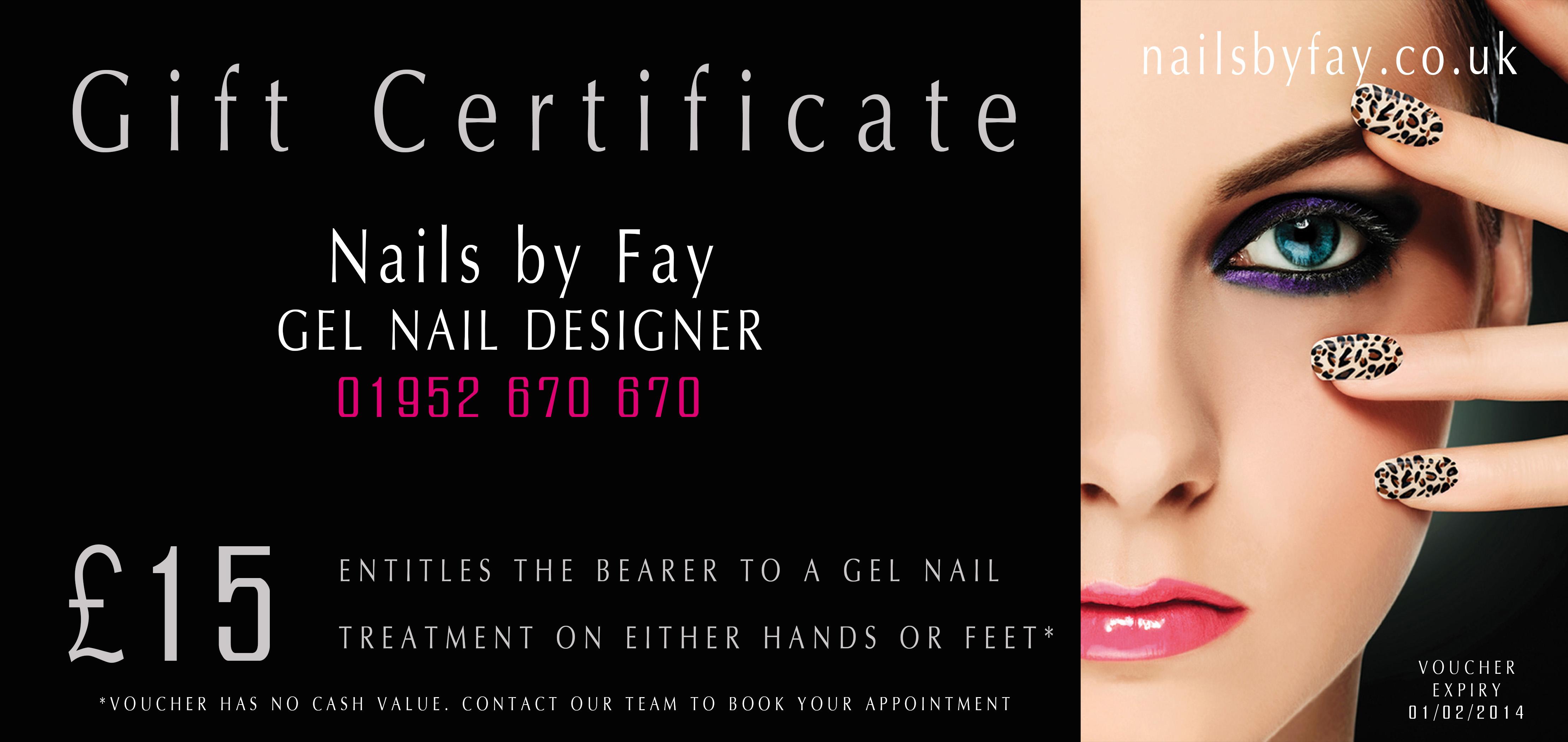 Nails By Fay   GEL NAIL DESIGNER